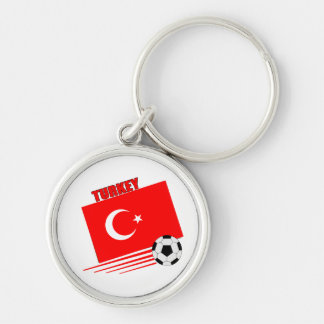 Turkish Soccer Team Keychains