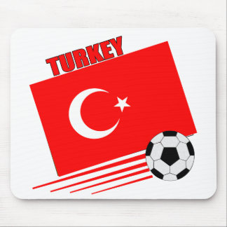 Turkish Soccer Team Mouse Pad