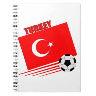 Turkish Soccer Team Note Books