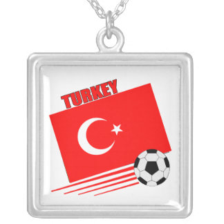 Turkish Soccer Team Personalized Necklace