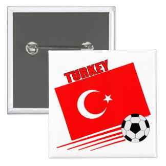 Turkish Soccer Team Pin