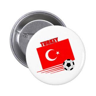 Turkish Soccer Team Pinback Button