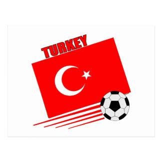 Turkish Soccer Team Postcard