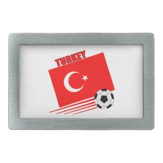 Turkish Soccer Team Rectangular Belt Buckle