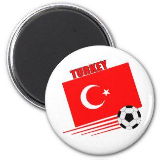 Turkish Soccer Team Refrigerator Magnets
