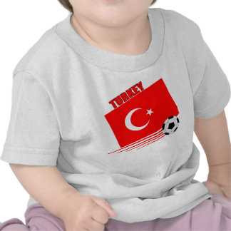 Turkish Soccer Team Tee Shirts
