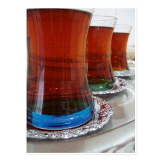 Turkish Tea Postcard