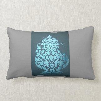 Turkish teapot lapis lazuli 1001 and one night lumbar pillow