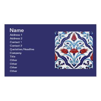 Turkish tile Business Card Business Card Templates