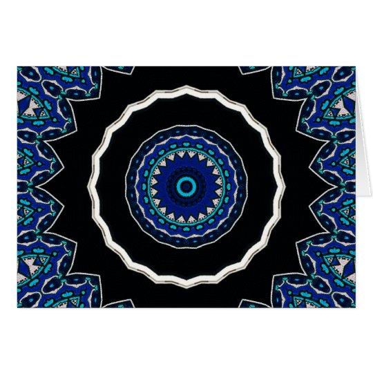 Turkish Tile Ottoman Era design Card