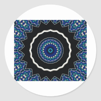 Turkish Tile Ottoman Era design Classic Round Sticker