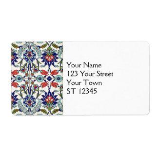 Turkish Tile Shipping Label