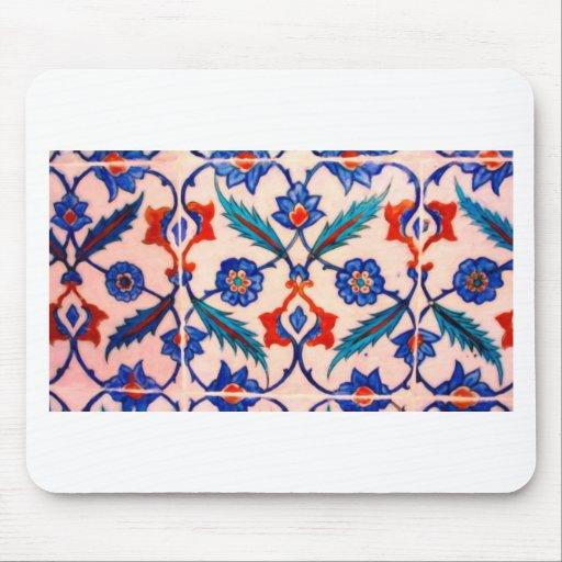 turkish tiles 4 mouse pad