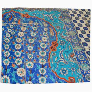 Turkish tiles Binder
