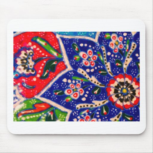 turkish tiles mouse pad