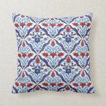 turkish tulip pillow throw pillow