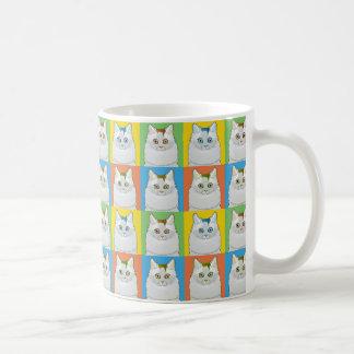 Turkish Van Cat Cartoon Pop-Art Mug