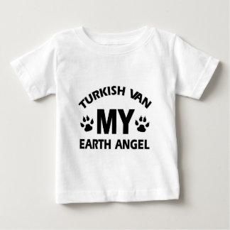 Turkish van cat design baby T-Shirt