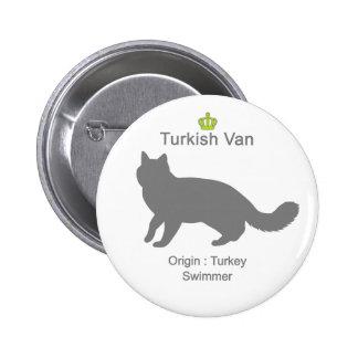 Turkish Van g5 Pinback Button
