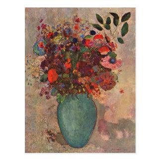 Turkish Vase by Bertrand-Jean Redon Postcard