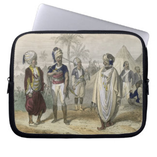 Turkish Volunteers' Camp, from 'Constantinople and Laptop Sleeve