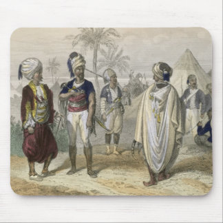 Turkish Volunteers' Camp, from 'Constantinople and Mouse Pad