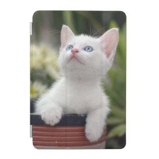 Turkish White Kitten (2.5 Months Old ) iPad Mini Cover