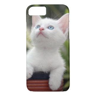 Turkish White Kitten (2.5 Months Old ) iPhone 7 Case