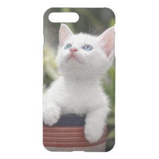 Turkish White Kitten (2.5 Months Old ) iPhone 7 Plus Case