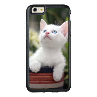 Turkish White Kitten (2.5 Months Old ) OtterBox iPhone 6/6s Plus Case