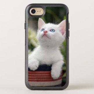 Turkish White Kitten (2.5 Months Old ) OtterBox Symmetry iPhone 7 Case