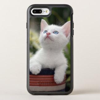 Turkish White Kitten (2.5 Months Old ) OtterBox Symmetry iPhone 7 Plus Case