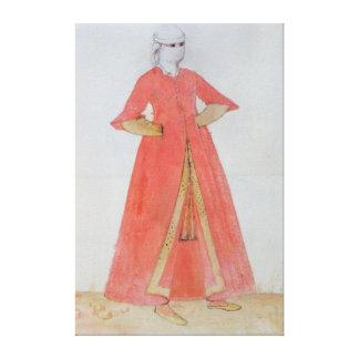 Turkish Woman Canvas Print
