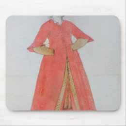 Turkish Woman Mouse Pad