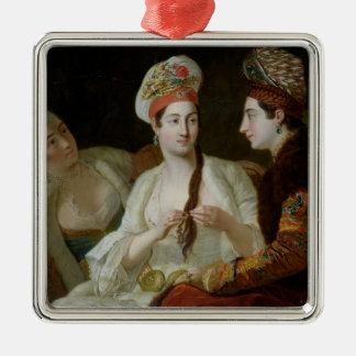 Turkish Women Metal Ornament