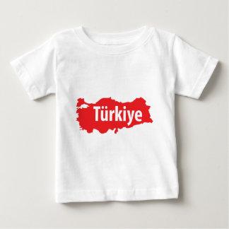 Türkiye contour icon baby T-Shirt