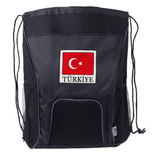 Türkiye Drawstring Backpack