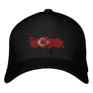 Turkiye Flag Embroidered Baseball Hat