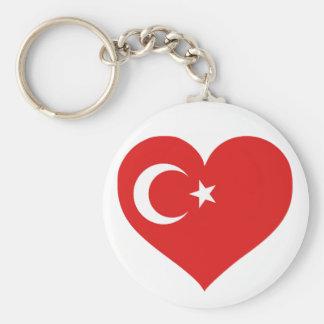 Turkiye Love Key Chain