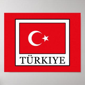 Türkiye Poster