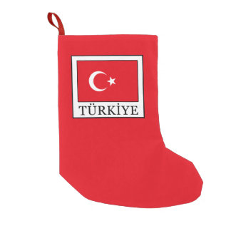 Türkiye Small Christmas Stocking