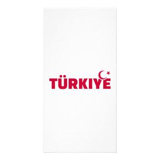 Türkiye turkey picture card