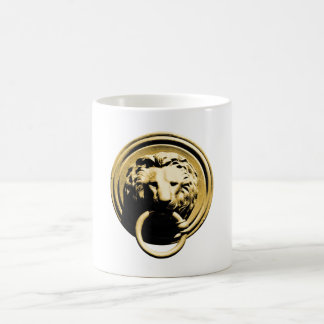 Türklopfer lion door more knocker RAP by lion Coffee Mug