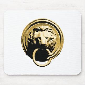 Türklopfer lion door more knocker RAP by lion Mouse Pad