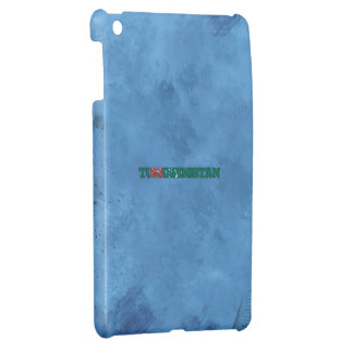 Turkmen name and flag on cool wall cover for the iPad mini