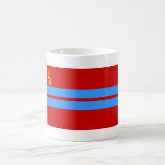 Turkmen SSR Flag Classic White Coffee Mug