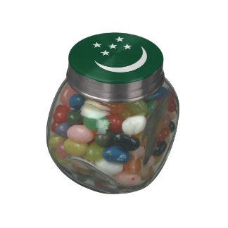 Turkmenistan Jelly Belly Candy Jar