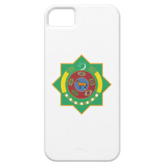 Turkmenistan Coat of Arms iPhone 5 Covers