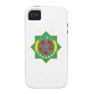 Turkmenistan Coat of Arms Case-Mate iPhone 4 Cases