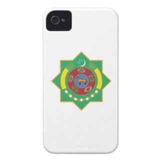 Turkmenistan Coat of Arms iPhone 4 Cases